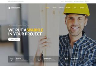 Stoneworks – Premium Responsive Construction Architect Drupal Theme