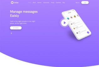 Stribe – Premium Responsive App Landing Page HTML5 Template