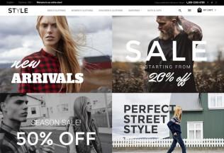 Style – Premium Responsive Fashion Clothes Magento Theme