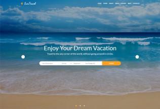 Sun Travel – Premium Responsive Travel Agency HTML5 Template