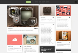 Super Grid – Premium Responsive Fullscreen Grid-Based Portfolio/Blog WordPress Theme