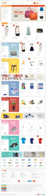 Best Responsive Flat Design Prestashop Themes in 2015