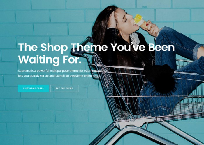 Suprema – Premium Responsive Multipurpose eCommerce WordPress Theme