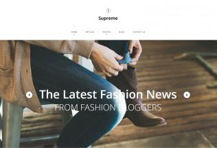 Supreme – Premium Responsive WordPress Theme