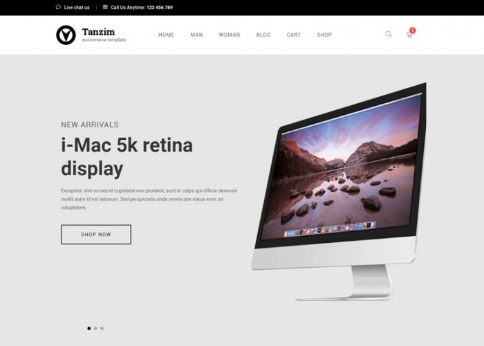 Tanzim – Premium Responsive eCommerce WordPress Theme