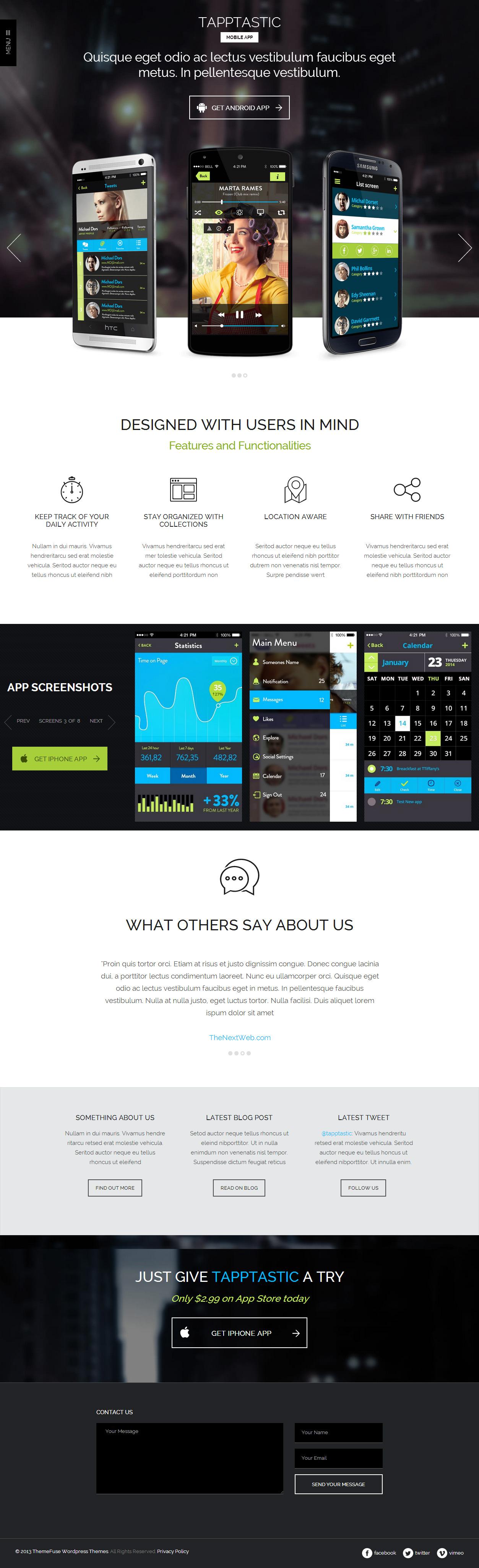 html5 mobile app