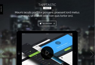 Tapptastic – Premium Responsive Mobile App HTML5 Template