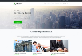 TaxPress – Premium Responsive Corporate Business Drupal Theme