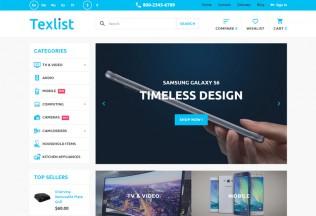 Texlist – Premium Responsive Electronic PrestaShop Theme