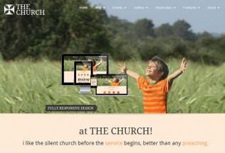 The Church – Premium Responsive WordPress Theme for Churches