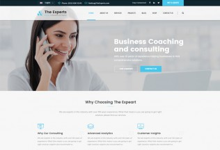 The Experts – Premium Responsive Business Consulting HTML5 Template