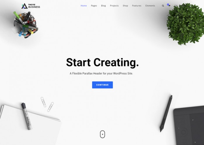 The Fiz – Premium Responsive Business and Corporate HTML5 Template