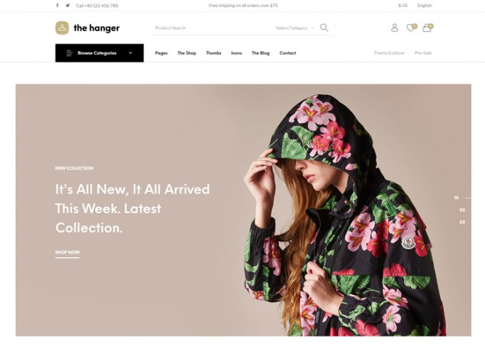 The Hanger – Premium Responsive WooCommerce WordPress Theme