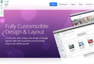 The7 – Premium Responsive Multi-Purpose WordPress Theme