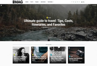 TheMAG – Premium Responsive Drupal Blog and Magazine Theme