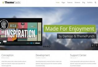 ThemeTastic – Premium Responsive Flat WordPress Theme