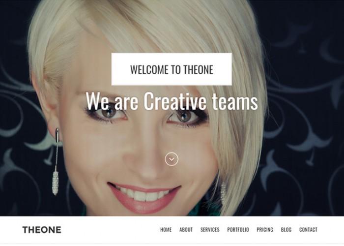 Theone – Premium Responsive One Page Parallax Joomla Theme