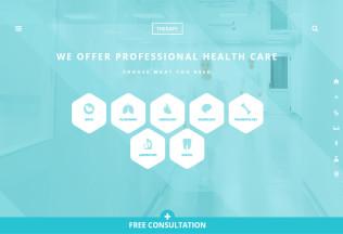 Therapy – Premium Responsive Health and Medical WordPress Theme
