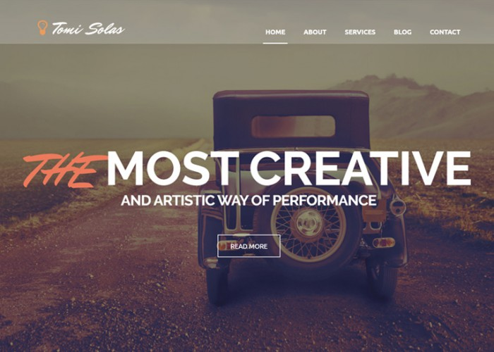 Tomi Solas – Premium Responsive Photography WordPress Theme