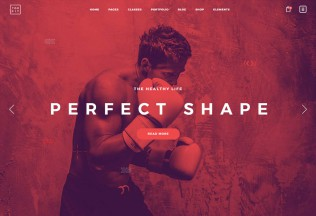 TopFit – Premium Responsive Fitness Gym and Lifestyle WordPRess Theme