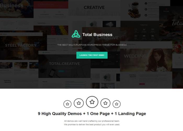 Total Business – Premium Responsive Multi-Purpose Business WordPress Theme