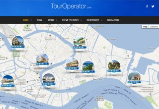 Tour Operator – Premium Responsive WordPress Theme with Reservation System