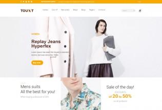 Touxt – Premium Responsive Commerce Drupal 8 Theme