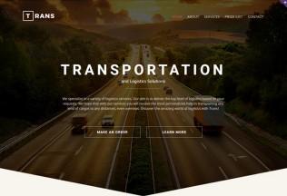 Trans – Premium Responsive Transportation HTML5 Template