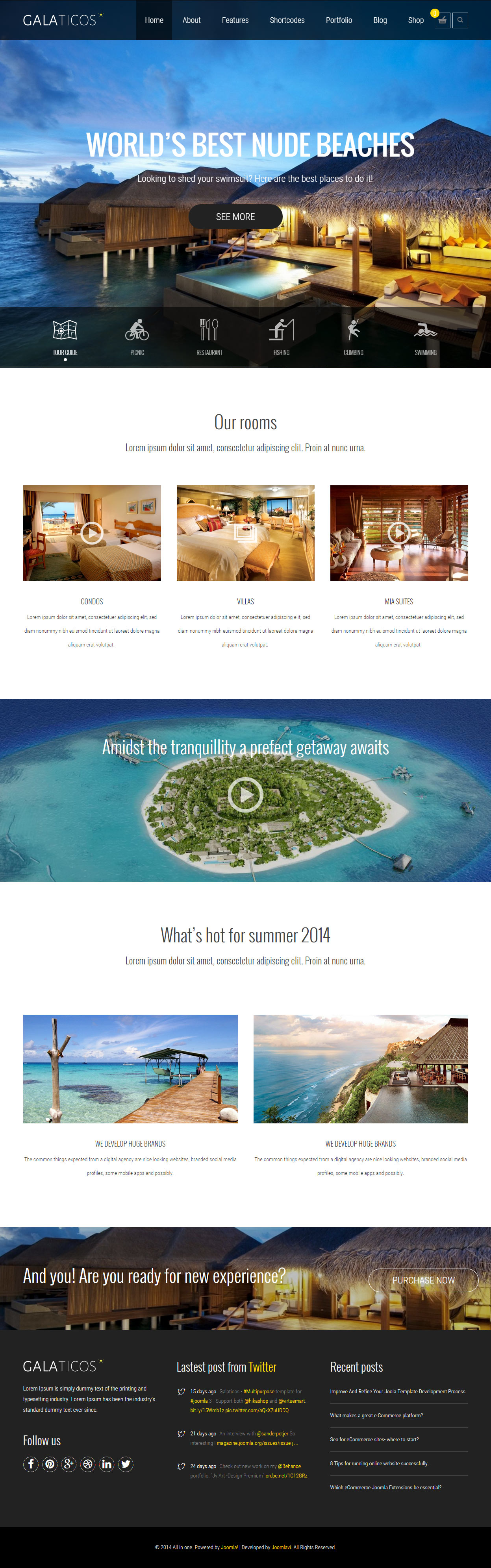 best responsive joomla travel templates 2017 responsive miracle