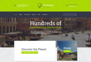 Travelos – Premium Responsive Travel Agency HTML5 Template