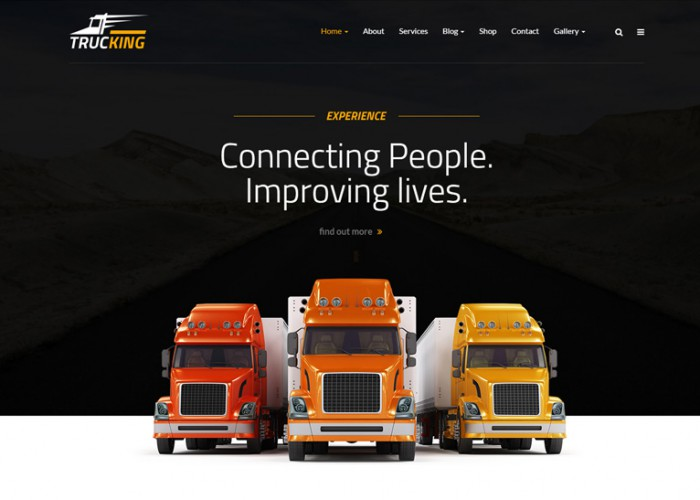 Trucking – Premium Responsive Logistics and Transportation WordPress Theme