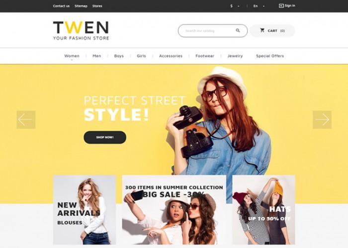 Twen – Premium Responsive Fashion Store PrestaShop Theme