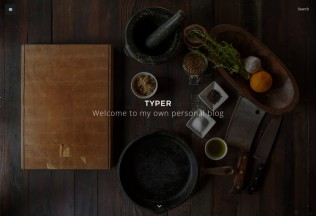 Typer – Premium Responsive Striking Blogging WordPress Theme