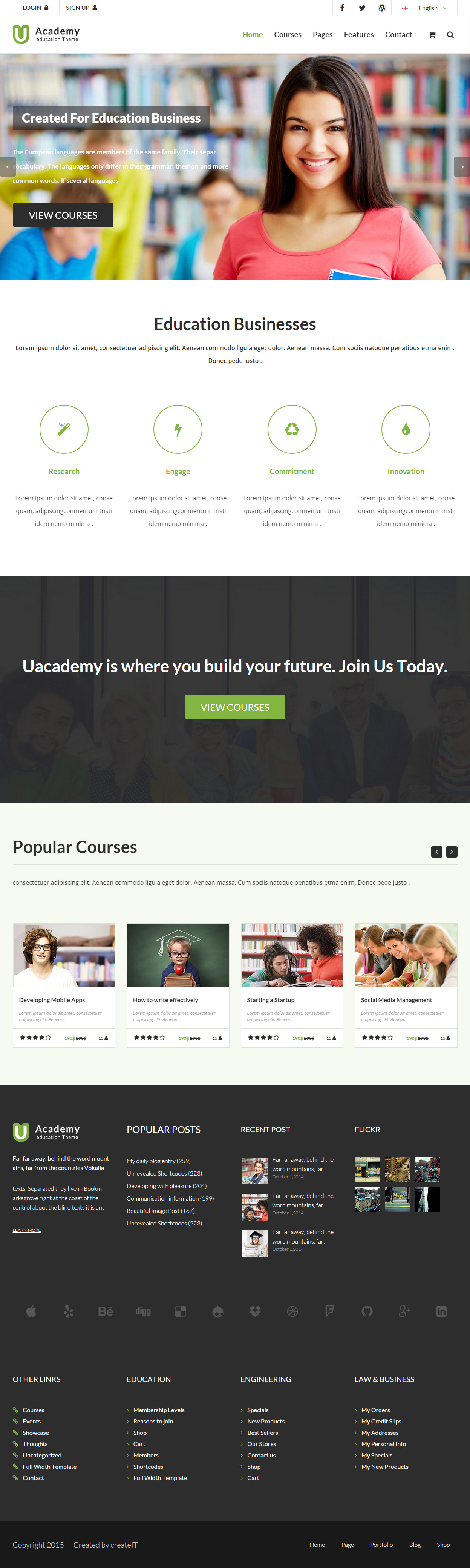 Best Responsive HTML5 Learning Management System Templates in 2015 ...
