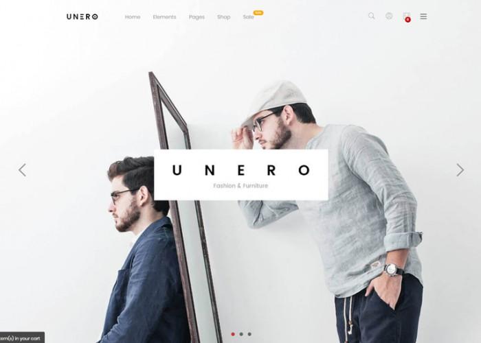 Unero – Premium Responsive Minimalist Magento 2 Theme