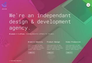 Unison – Premium Responsive Material Design Portfolio Template