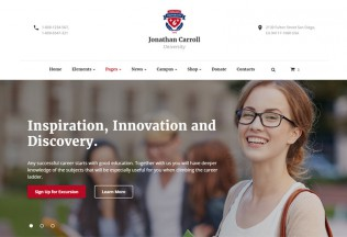 University – Premium Responsive Education HTML5 Template