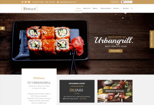 Urbanrgill – Premium Responsive Restaurant HTML5 Template
