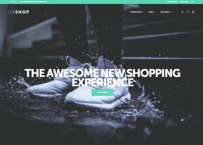 UX Shop – Premium Responsive WooCommerce WordPress Theme