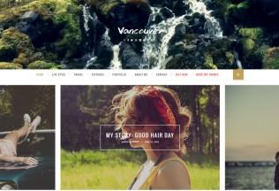 Vancouver – Premium Responsive Multiple Layouts WordPress Blog Theme