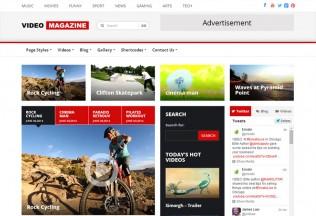 Video Magazine – Premium Responsive Magazine WordPress Theme