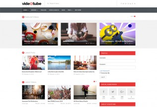 VideoTube – Premium Responsive Video WordPress Theme