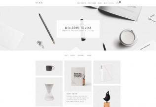 Vika – Premium Responsive Portfolio WordPress Theme