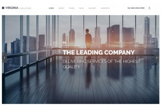 Virginia – Premium Resposnive Corporate Joomla Template