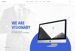 Visionary – Premium Responsive Creative Agency Multipurpose WordPress Theme
