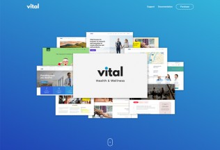 Vital – Premium Responsive Health Medical and Wellness WordPress Theme