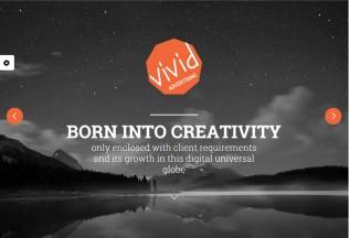 Vivid – Premium Responsive Bootstrap Parallax HTML5 Template