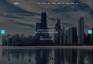 Vizerk – Premium Responsive One Page Parallax HTML5 Template