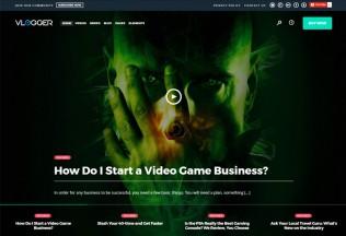Vlogger – Premium Responsive Professional Video & Tutorials WordPress Theme