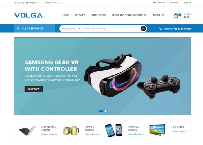 Volga – Premium Responsive MegaShop Prestashop 1.7 Theme